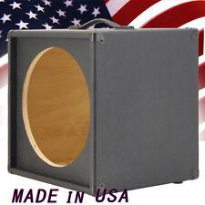 1X15 Bass Guitar Empty Speaker Cabinet Bronco Black Tolex MiniBG115 BBTLX