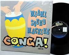 "MIAMI SOUND MACHINE conga 12"" DANCE MIX"