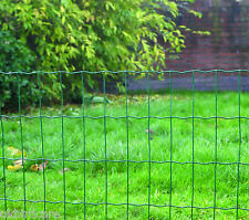 4ft High Heavy Duty PVC Coated Garden Wire Fencing