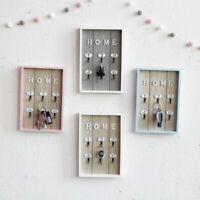 Home Wall Key Chain Holder Hooks Decor Storage Ring Organizer Hanging Bags Box