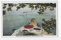 Sugar Loaf Casino and Rock, Catalina Island CA Postcard
