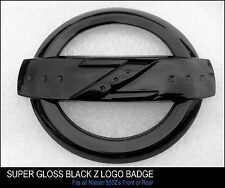 350Z SUPER HIGH GLOSS BLACK Z LOGO BADGE EMBLEM FOR 350 Z FAIRLADY GT