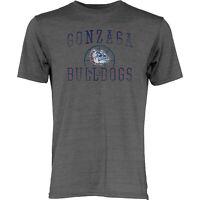 Gonzaga Bulldogs Blue 84 Gray Soft Lightweight Loose Vintage Basketball T-Shirt