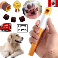 Electric Pet Nail Grinder Claw Grooming Trimmer Paws Clipper Dog Cat Care CA