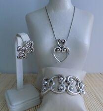 "Brighton ""Balboa"" Necklace Bracelet & Earrings - 3 piece set"