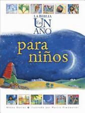 La Biblia en un Ano Para Ninos (Hardback or Cased Book)