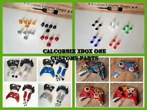 Microsoft Xbox One S Wireless Controller Custom Parts Red Green Blue Yellow