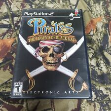 Pirates: The Legend of Black Kat -PS2 Game Complete W/ Manual - Tested