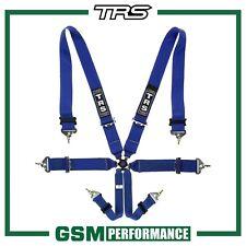 TRS MAGNUM 6 POINT FIA HARNESS BELT - BLUE