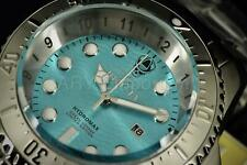Invicta Men's Watch 30843 Hydromax Ice Blue Dial 1000M Silver Stainless Bracelet