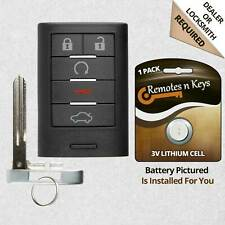 Car Key Fob Transmitter Remote For 2008 2009 2010 2011 2012 2013 Cadillac CTS