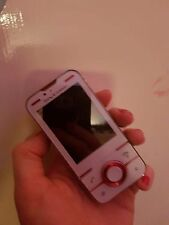 Sony Ericsson Yari Arándano Blanco (Desbloqueado) 5MP Slide 3G GPS Bluetooth Rojo