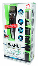NEW! WAHL Lithium Ion All In One MENS PERSONAL Trimmer GROOMER Rechargeable NiB
