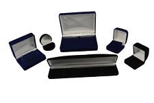 Jewellery Velveteen Box Case Luxury Jewellery Storage Presentation Box Supplies