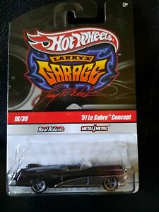 Hot Wheels Larry's Garage Chase Initial '51 Buick Le Sabre Concept Black New