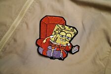 SpongeBob Ight Imma Head Out Meme Embroidered Patch