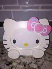 Vintage 2004 Sanrio Hello Kitty Photo Picture Frame White w Moving Bow, Cute