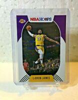 2020-21 Panini NBA Hoops Lebron James #146 Base Los Angeles Lakers-Free Shipping
