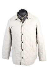 Vintage Barbour Microfiber  Polarquilt Jacket S White C1365