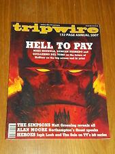TRIPWIRE ANNUAL 2007 HELLBOY SIMPSONS HEROES MIGNOLA ALAN MOORE UK US MAGAZINE~