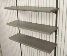 Lifetime 0130 3-Piece Shelving Shelf Kit for 7, 8, 10, 11' 15 ft Storage Sheds