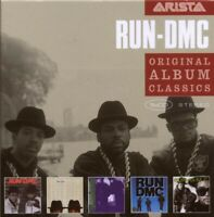 "RUN-DMC ""ORIGINAL ALBUM CLASSICS"" NEW! 5 CD HIP HOP"