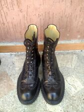 CESARE PACIOTTI HEROES' RARE BOOTS LEATHER MADE IN ITALY UK 8 US 8.5 EU 42 MEN