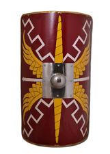 Battle Merchant legionario-scutum 107x60cm umbo de acero romanos escudo Escudo LARP