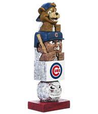 Chicago Cubs Tiki Tiki Totem Statue Figurine MLB Baseball Mascot Clark