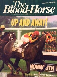 The Blood-Horse Magazine Louis Quatorze's Jim Dandy August 10, 1996 010119nonrh