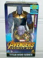 "Marvel Avengers Infinity War Titan Hero Series Thanos 12"" Action Figure Doll Toy"