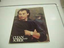 CLEAN AND SOBER MOVIE PRESS KIT 1988 MICHAEL KEATON 12 PRESS PHOTOS