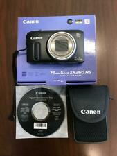 Canon Power Shot SX260 HS 12.1MP Digital Camera - Black (SX260HS)