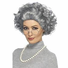 Granny Kit, Grey, with Wig, Glasses & Pearl Necklace COST-ACC