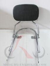 Triumph Bonneville/ T100 Low/ Short Sissy Bar Backrest  Chrome Nice