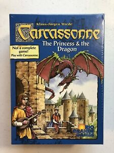 Carcassonne THE PRINCESS & THE DRAGON Expansion NEW SEALED 1st Edition 2005