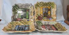 Tabletops Unlimited Rue de Paris Windows Salad Plate set of 4