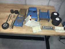 Blue Tonka Truck Parts and Wheels