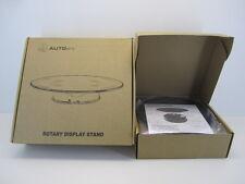 AutoArt 98017 Rotary Display Stand Black/Black plate diam.20cm NEW espositore