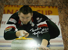 MIKE MCEWAN TEAM MANITOBA CANADA CURLING SIGNED 8 X 10 MATTE PHOTO B