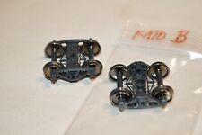 "Ho scale Parts freight car trucks plastic Kato Bettendorf 33"" metal wheels"