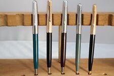 Vintage Parker 51 Mechanical Pencils, 5 Different Finishes, UK Seller
