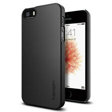 Original Spigen Protector Cover for iPhone SE 5 5s Ultra Thin Fit Case
