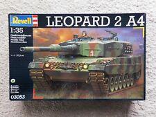 Revell 03053 Leopard 2A4 Panzer Modellbausatz , 1:35 , von 2001