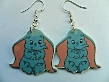 Cute DUMBO Elephant Resin Hook  Earrings