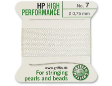 HP ad alte prestazioni filo di seta bianco INCORDATRICE 0.75mm Griffin Taglia 7-FT799