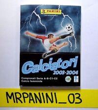 AGGIORNAMENTI Panini 2003-2004 04 - Figurina-sticker - SET UPDATE -New