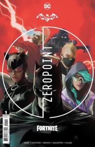 Batman Fortnite Zero Point #1  w/code WE WILL MESSAGE CODE MONDAY SHIP BOOK TUE
