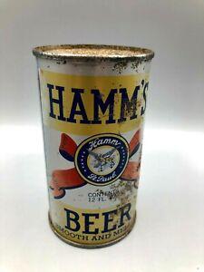 OLD - Vintage HAMM'S Flat Top Beer Can Theo Hamm Brew St. Paul Minn. IRTP & OI