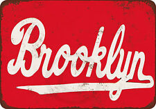 Brooklyn Vintage Reproduction Metal Sign 8 x 12